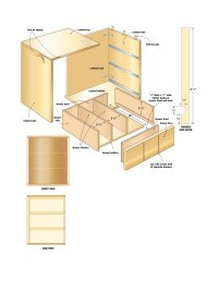 Wood Storage Cabinet Plans - Home Furniture Design