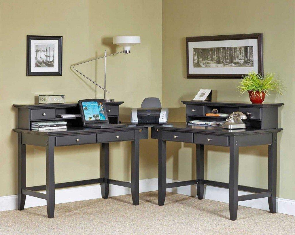 2 Person Corner Desk  Home Furniture Design