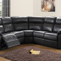 Cheap Black Leather Sectional Sofas Recliner Sofa Sets Near Me Home Furniture Design
