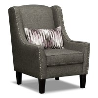 Grey Accent Chair - Home Furniture Design