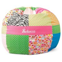 Monogrammed Bean Bag Chairs Kids