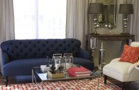 Navy Blue Living Room Furniture