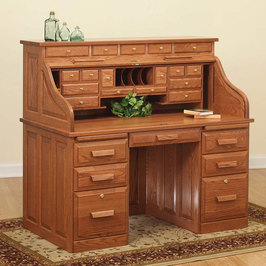 Roll Top Desks for Home Office  Home Furniture Design