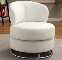 Round Swivel Accent Chair - Home Furniture Design