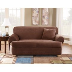T Sofa Covers Leather Reclining Denver Sure Fit Cushion Slipcover Home Furniture Design