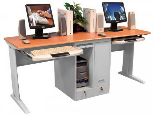 home office computer desks for two people Two Person Computer Desk - Home Furniture Design