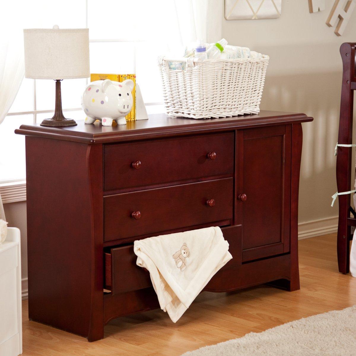 Cherry Wood Baby Dresser  Home Furniture Design