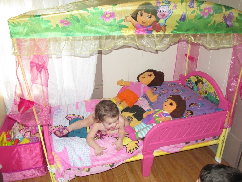 dora the explorer flip out sofa bed paris toddler set home furniture design