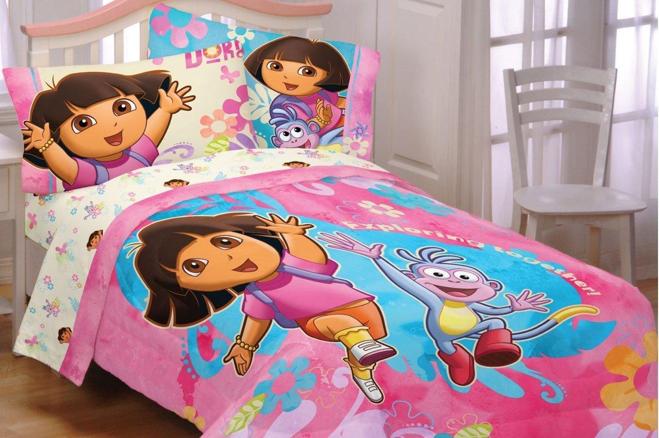 Dora Toddler Bedding Set  Home Furniture Design