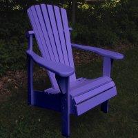 Purple Adirondack Chairs   Home Furniture Design