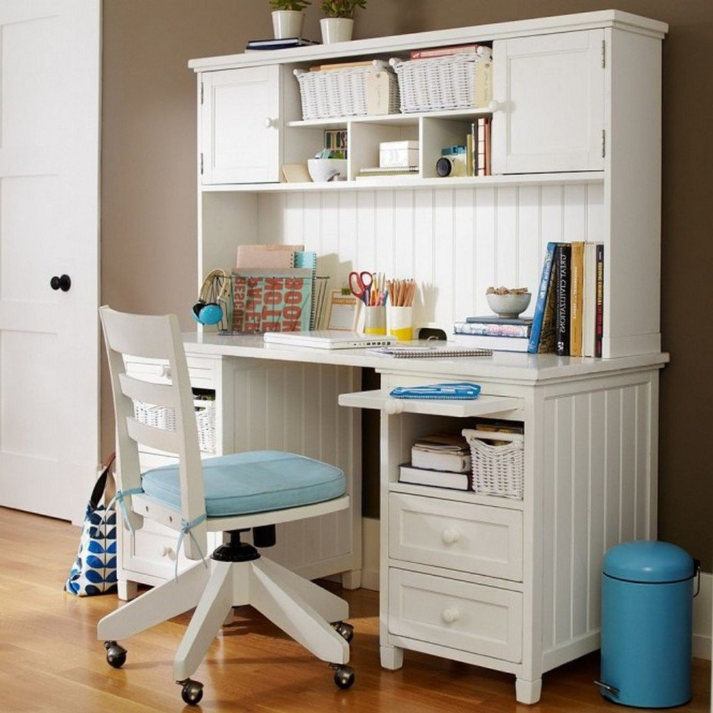 White Bedroom Desks  Home Furniture Design