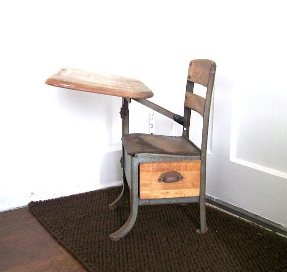 Antique Childs Desk  Home Furniture Design
