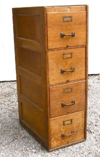 Antique Wooden File Cabinets Image   yvotube.com