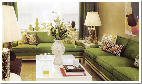 Apple Green Sofa Home Furniture Design