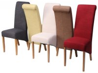 Best Fabric for Dining Chairs - Home Furniture Design