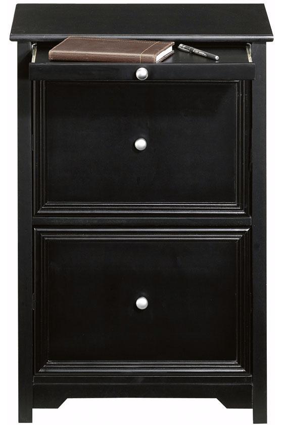 Black Wood Filing Cabinet  Home Furniture Design
