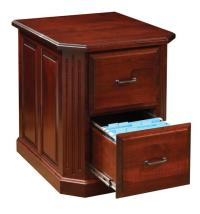 Cherry Wood Filing Cabinet - Home Furniture Design