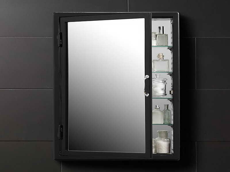 Corner Bathroom Medicine Cabinet Mirrors  Home Furniture