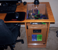 Custom Gaming Computer Desk - Home Furniture Design
