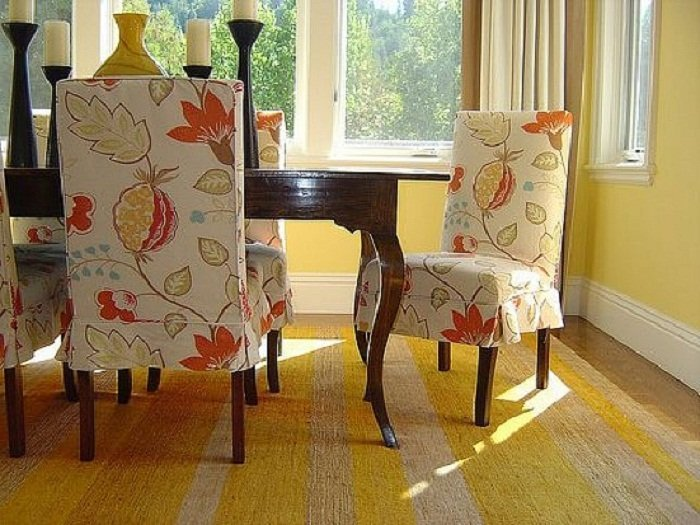 diy universal chair covers seat dunelm fabric for dining room chairs - home furniture design