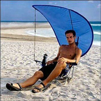 Folding Beach Chair with Canopy  Home Furniture Design