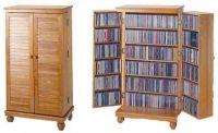Media Storage Cabinet with Doors - Home Furniture Design