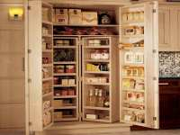 Pantry Storage Cabinets with Doors - Home Furniture Design