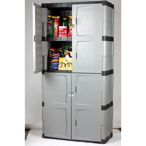 Rubbermaid Storage Cabinets with Doors  Home Furniture Design