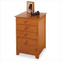 Solid Wood Filing Cabinet - Home Furniture Design