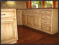 Staining Kitchen Cabinets without Sanding - Home Furniture ...