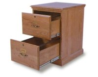 Wood Filing Cabinet 2 Drawer - Home Furniture Design