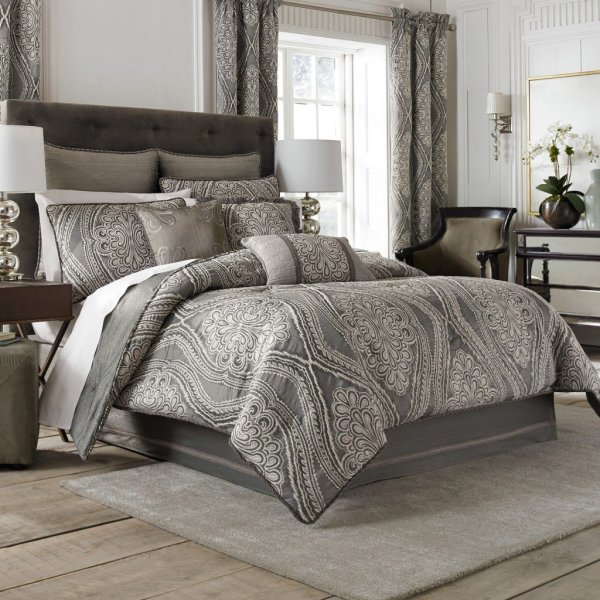 Bedroom Curtains and Comforter Sets