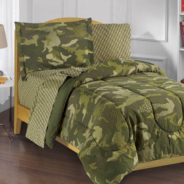 Camouflage Baby Bedding Sets