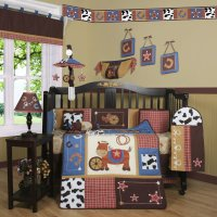 Cowboy Crib Bedding Set - Home Furniture Design