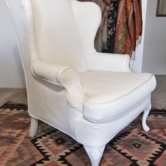 Roll Arm Chair Slipcovers Hanging Nest Ikea Custom Wing - Home Furniture Design