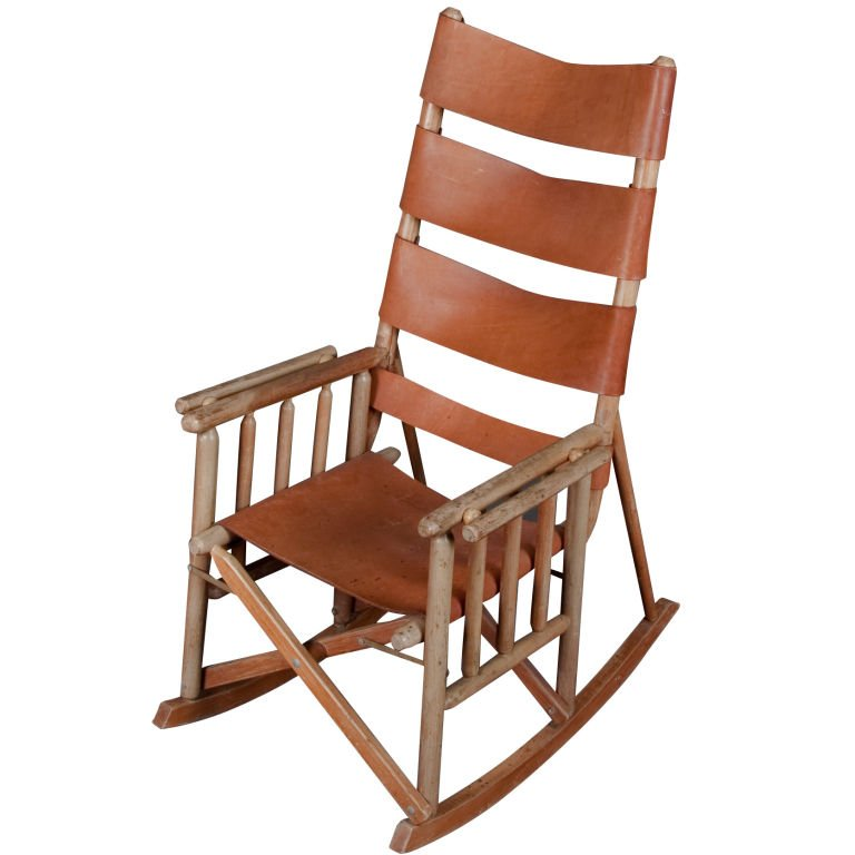 Folding Wooden Rocking Chair  Home Furniture Design