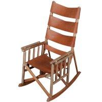 Folding Wooden Rocking Chair - Home Furniture Design