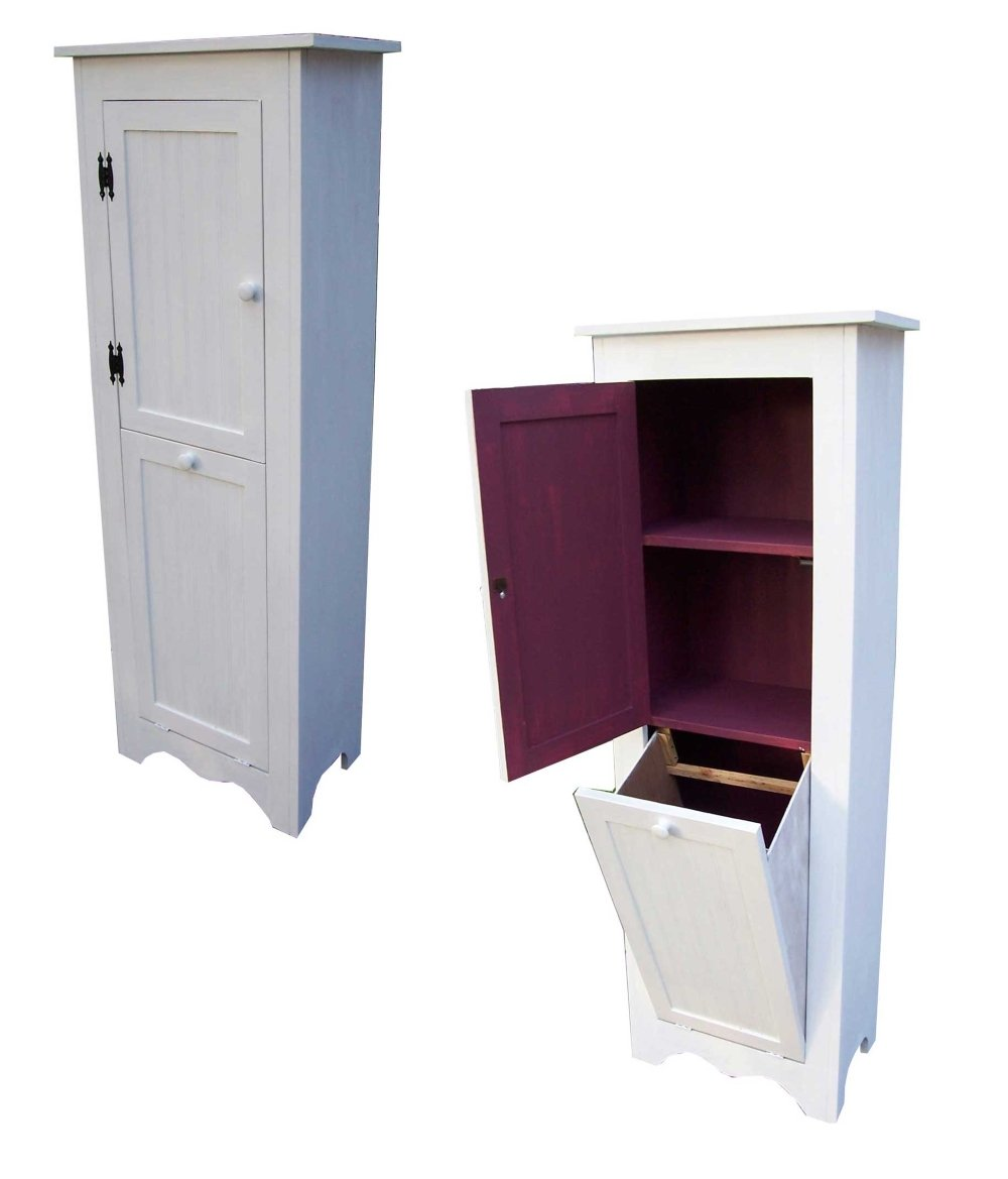 Laundry Hamper Cabinet  Home Furniture Design