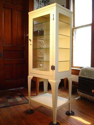 Metal Pharmacy Cabinet  Home Furniture Design