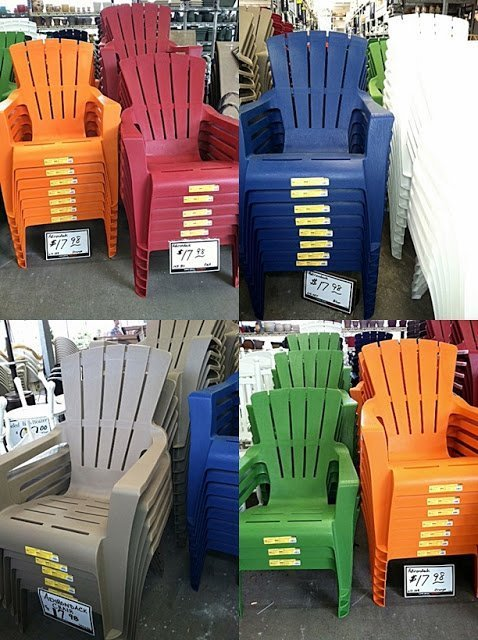 Plastic Adirondack Chairs Target  Home Furniture Design