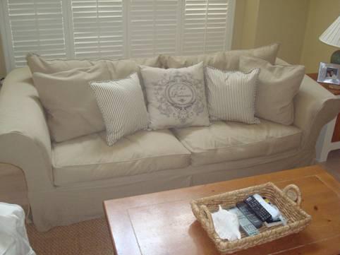 Rowe Slipcover Sofa  Home Furniture Design