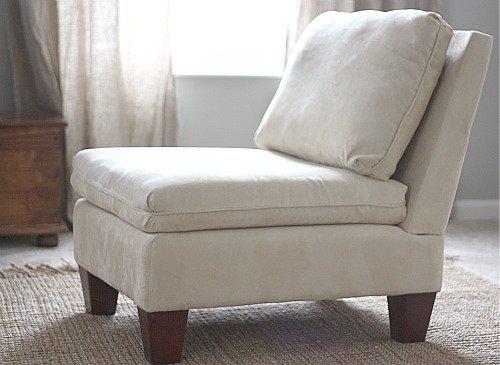 Slipper Chair Slipcover  Home Furniture Design