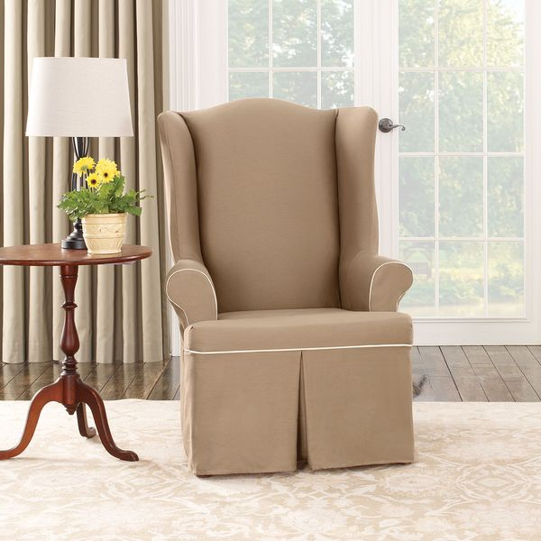 Sure Fit Wing Chair Slipcover  Home Furniture Design