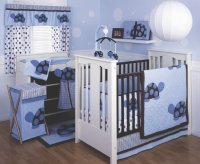 Turtle Crib Bedding Set