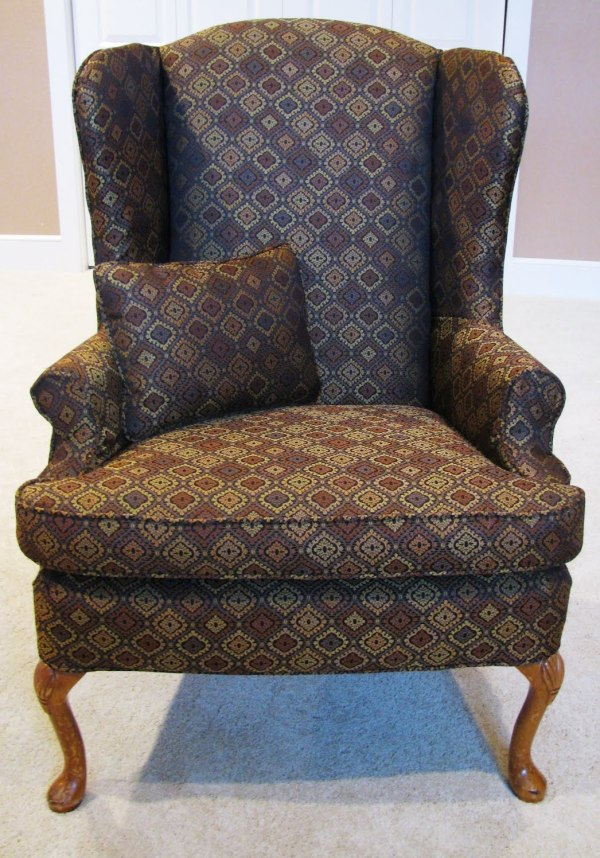 Wing Chair Slipcover Pattern