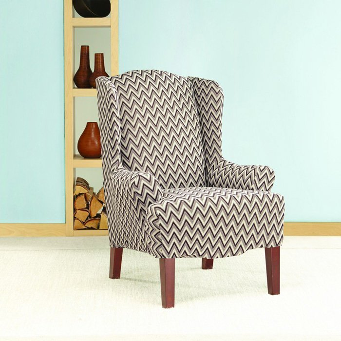Wingback Chair Slipcover Pattern  Home Furniture Design