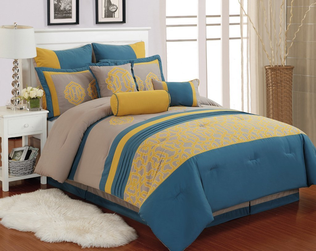 Blue And Yellow Bedding Sets