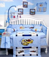 Cars Crib Bedding Set