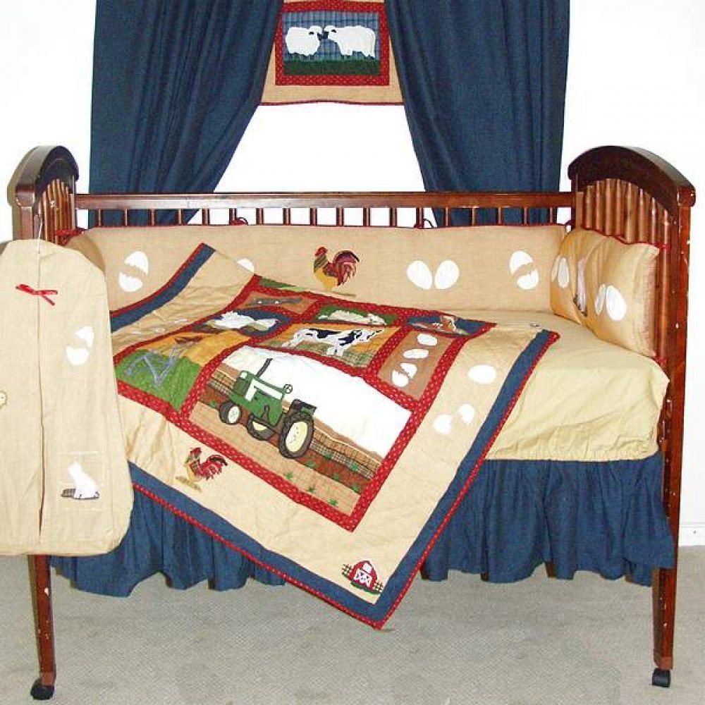 Farm Crib Bedding Set