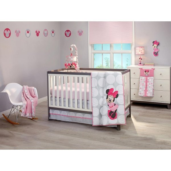 Minnie Mouse Crib Bedding Set - Home Furniture Design